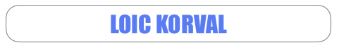Site Officiel Loïc Korval
